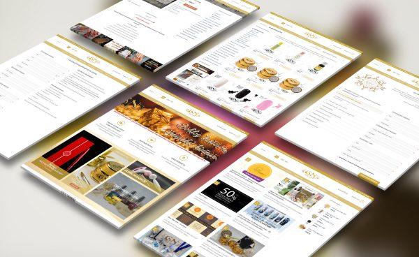 GoldNails Webshop