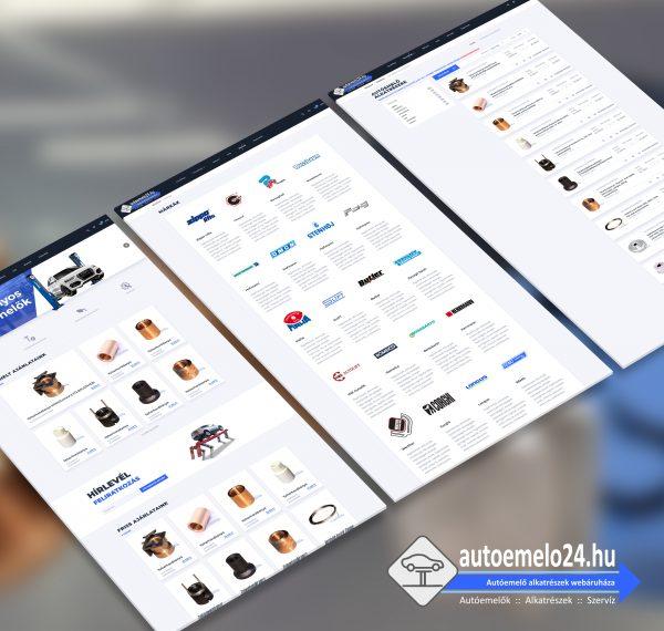 Autoemelo24.hu webshop